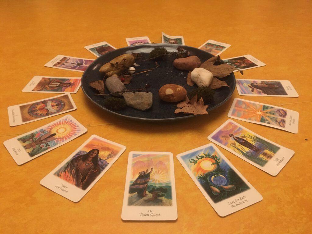 Tarot Karten Kreis